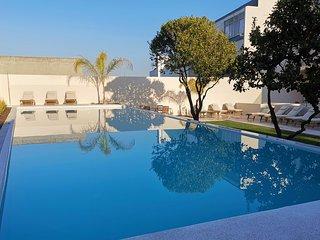 Casa Rene, Cacilhas, Almada - Appartement met tuin en groot zwembad (3e verd)