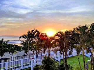 Oceanfront condo w/ ocean views, shared pool & balcony - walk to the beach!