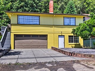 NEW! Guerneville Home, Walk to the Russian River!