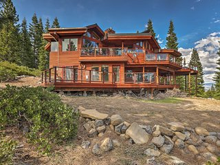 NEW! Cabin 4mi to Donner Lake w/Breathtaking Views