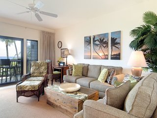 East Kauai Bliss! Pacific Vista+WiFi, DVD, Kitchen, Lanai, Ceiling Fans–Kaha