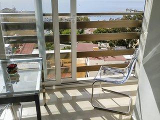 Naciones-BenAlma: MIRADOR MEDITERRANEO. Luminoso, playa a 200m.3piscinas.WiFi