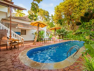 Luxurious boutique suite, 1 km from Candolim Beach