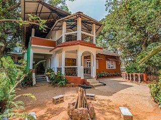 Lavish 3-bedroom villa, 3.6 km from Calangute Beach