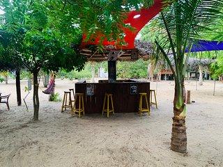 Ocean view cabana & Biile Bille Restaurant