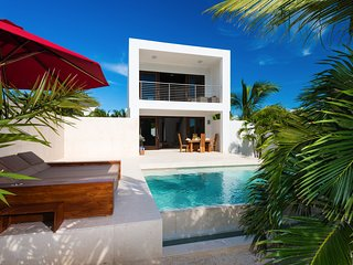Contemporary Luxury one-bedroom beach villa