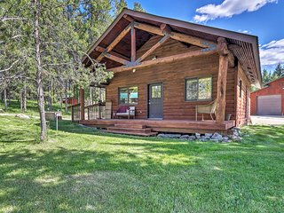 NEW! 40-Acre Trego Resort Cabin w/ Lake & Trails!