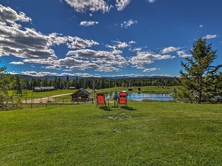 NEW-Scenic Trego Cabin w/ Lake, Trails & 40 Acres!