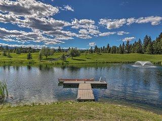 NEW! Trego Resort Cabin w/ Lake, Pavilion & Trails
