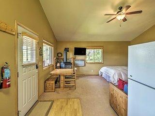NEW-Scenic Trego Cabin w/ Lake, Trails & 40 Acres!