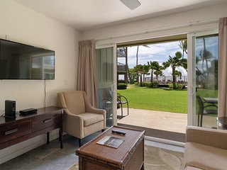 Ground Floor w/Kitchen, Den, Lanai, WiFi, Ceiling Fans+Flat Screens–Kauai