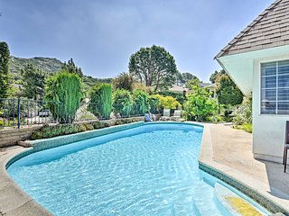 LA Area Home w/Pool+Views ~30 Min to Downtown