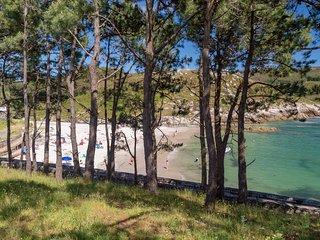 Playa en Corme.