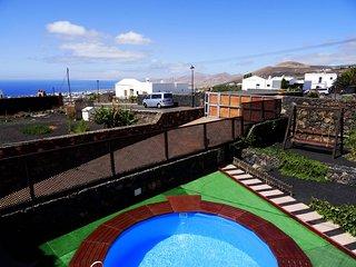 Casa de vacaciones Villa Daniela en La Asomada con vista al mar para 5 personas