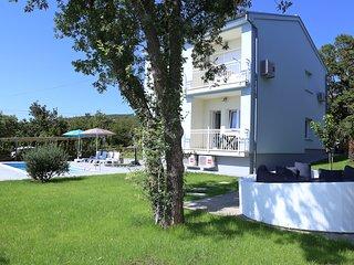 villa sidro, kuca za odmor 10 osoba, bazen, Jadranovo , autoput, aerodrom Rijeka
