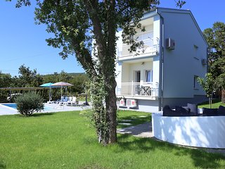 villa sidro, holiday house 10 persons, swimming pool, Jadranovo, highway, Rijek