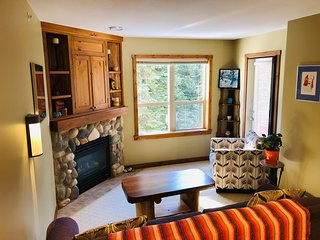 Silver Queen Rare one Bedroom Creekside slopeside Condo  Sleeps 4 - Pet Friendly