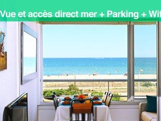 Superbe appartement vue mer et accès direct plage - leconfortalaplage
