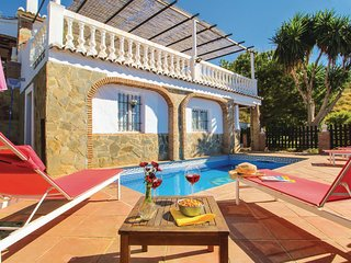 Stunning home in Frigiliana w/ Outdoor swimming pool, WiFi and 3 Bedrooms