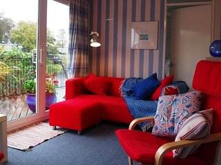 Lovely chalet with large lakeside balcony - 81 Glan Gwna Holiday Park