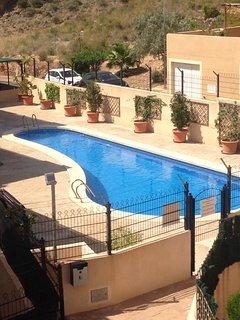 AZ02 Roof top terrace apartment, 2 bedrooms, 1 bathroom, very close to beach