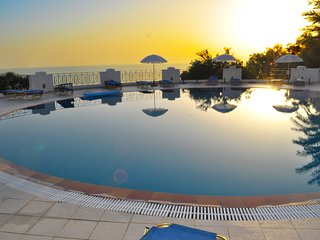 Holiday Apartments with pool Maria on Agios Gordios Beach