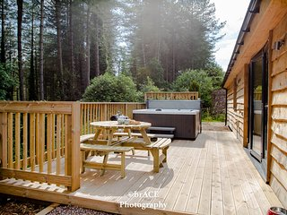 Tree Tops Lodge, Clements End, Coleford - HOT TUB