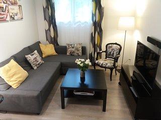 appartement T2 40 m2 avec piscine chauffee privee