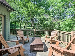 NEW! Wintergreen Resort Home w/ Golf Course View!