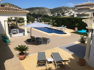 El Portet  Moraira Luxury villa  close to beach  heated pool New  summer 2019