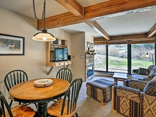 NEW! Ski-In/Ski-Out Crested Butte Condo w/Hot Tub!