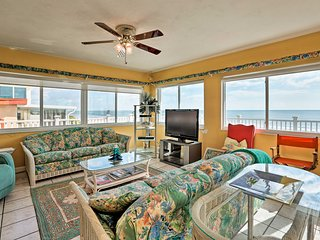 NEW! Beachfront Port Orange Home w/ 3-Tiered Deck!