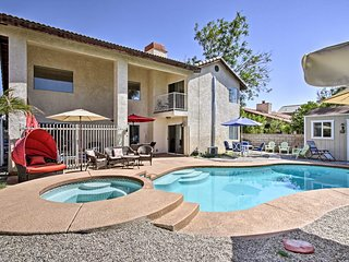Spacious Cathedral City Home w/ Private Pool & Spa