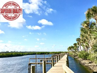 HOT DEAL*86! Kate's Places-DIRECT RIVERFRONT VILLA RIVIERE BOAT DOCKS NEAR BEACH