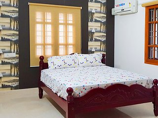 Madurai Homes Stay with Classic Architecture Rooms