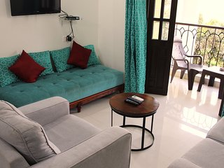 Holiday Haven in prime Candolim for upto 4