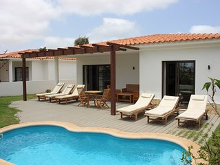 Villa Tortuga with seaview & private pool in Sal Cap Verde (from 85€ per night*)