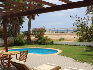 Beachfront Villa Tortuga with sea view & private pool on Melia Tortuga Beach Sal