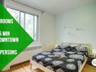 Happy 3 bedrooms, 20 min downtown