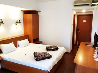 Capricorn's Double Room with extra bed