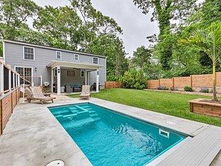 Southampton House w/Yard & Pool, Near Harbor!