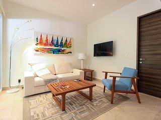 Luxury Ground Floor 2BR Condo in Akumal by Olahola