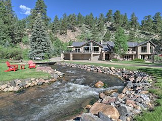 Stunning Evergreen Mountain Home on Private Stream