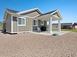 Brand new dog friendly home, with ATV access out the front door!