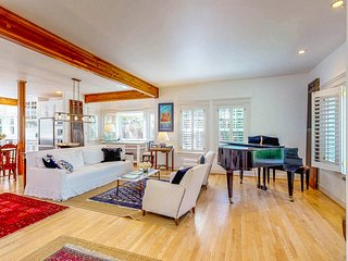 NEW LISTING! Family friendly home w/ a piano & deck - easy walk to town & ferry