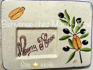 GITE DE MAMY ANNE * Coeur de MALAUCENE * MONT-VENTOUX * VAUCLUSE *
