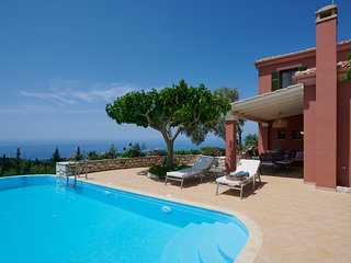 Sophisticated Luxury Villa with Private Pool, Panoramic Sea View & Dreamy Sunset