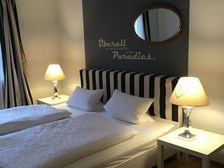 Aussergewohnliche Wohnung mit 105 qm - 2 Schlafzimmer - 5 Betten - in Toplage