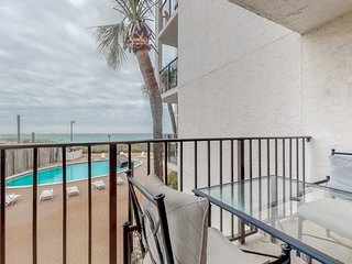 Waterfront condo w/ shared resort pool, tennis, basketball, & beach access