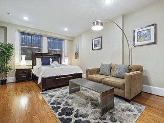RITTENHOUSE SQUARE STUDIO, HISTORIC APT IN CENTER CITY
